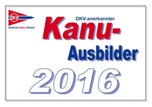 Kanu-Ausbilder 2016