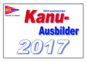 Kanu-Ausbilder 2017