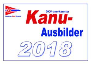 Kanu-Ausbilder 2018